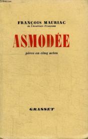 Asmodee. Piece En Cinq Actes. - Couverture - Format classique