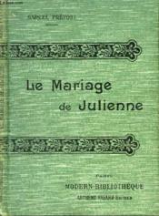 Le Mariage De Julienne. - Couverture - Format classique