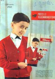 POSTES ET TELECOMMUNICATIONS N°100, 9e ANNEE, AVRIL 1964 - Couverture - Format classique