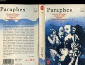 Paraphes - 50 Poetes, 250 Poemes Manuscrits Inedits Reunis Par Jacques Charpentreau - Couverture - Format classique