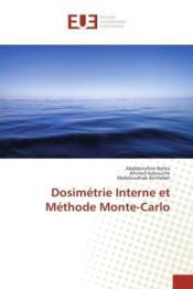 Dosimetrie interne et methode monte-carlo - Couverture - Format classique