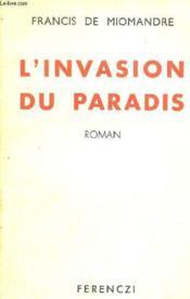 L'Invasion Du Paradis - Couverture - Format classique