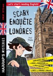 Scary enquête à Londres - Couverture - Format classique