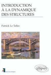 Introduction A La Dynamique Des Structures - Intérieur - Format classique