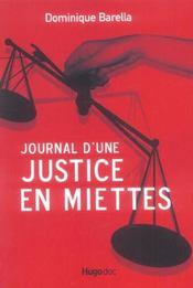 Journal d une justice miettes - Intérieur - Format classique