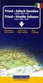 Frioul ; Vénétie - Couverture - Format classique