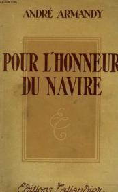 Pour L'Honneur Du Navire - Couverture - Format classique