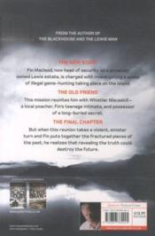 The chessmen - 4ème de couverture - Format classique