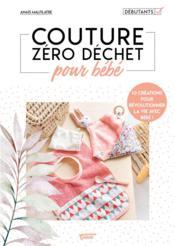 Couture zéro dechet pour bébé - Couverture - Format classique