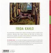 En chemin avec... Frida Kahlo - 4ème de couverture - Format classique