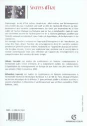 Secrets d'etat ; pouvoirs et renseignement dans le monde contemporain - Couverture - Format classique
