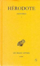 Histoires t.1 ; Hérodote - Couverture - Format classique