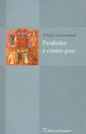 Paraboles a contre-jour - Intérieur - Format classique