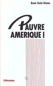 Pauvre Amerique - Intérieur - Format classique