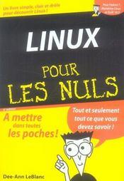 Linux pour les nuls (6e édition) - Intérieur - Format classique