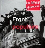 Front populaire - Intérieur - Format classique