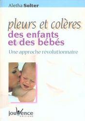 Pleurs et colères des enfants et des bébés - Intérieur - Format classique