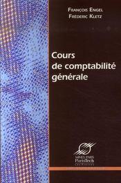 Cours de comptabilite generale - Intérieur - Format classique