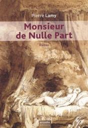 Monsieur de nulle part - Couverture - Format classique