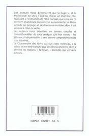 Le grand livre des premonitions ; reves et visions - 4ème de couverture - Format classique