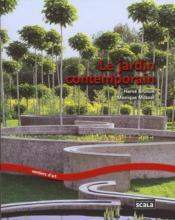 Le jardin contemporain - Couverture - Format classique