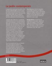 Le jardin contemporain - 4ème de couverture - Format classique