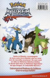Pokémon ; le film ; Kyurem, la lame de la justice - 4ème de couverture - Format classique