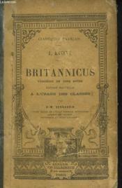 Britannicus. Tragedie En 5 Actes. - Couverture - Format classique