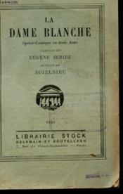 La Dame Blanche - Couverture - Format classique
