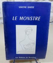 Le monstre. - Couverture - Format classique