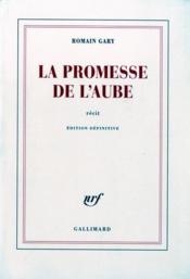La promesse de l'aube - Couverture - Format classique
