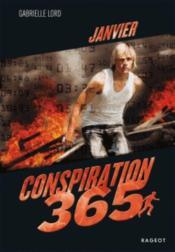 Conspiration 365 T.1 ; janvier - Couverture - Format classique