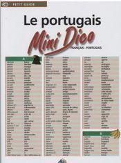 Mini dico francais/portugais - Intérieur - Format classique