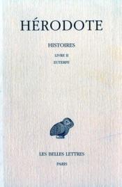 Histoires t.2 ; livre 2 ; Euterpe - Couverture - Format classique