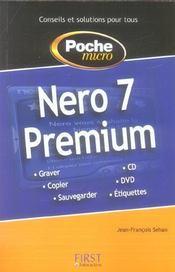 Poche micro nero 7 premium - Intérieur - Format classique