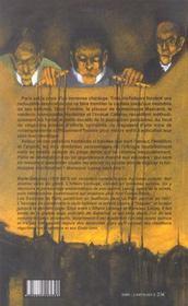 Les esclaves de Paris t.1 ; le chantage - 4ème de couverture - Format classique