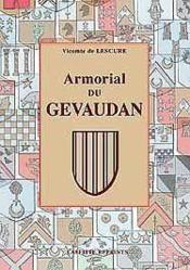 Armorial Du Gevaudan - Couverture - Format classique