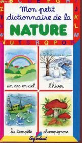Mon Petit Dictionnaire ; Nature - Couverture - Format classique