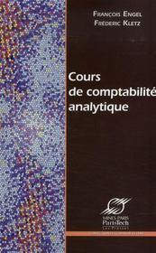 Cours de comptabilite analytique - Intérieur - Format classique
