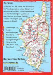 Korsika / corse (allemand) - 4ème de couverture - Format classique