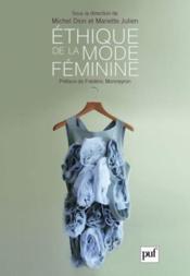 Éthique de la mode féminine - Couverture - Format classique