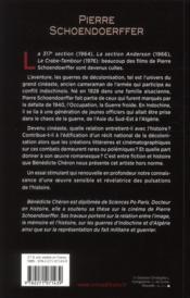 Pierre Schoendoerffer - 4ème de couverture - Format classique