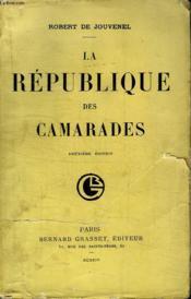 La Republique Des Camarades. - Couverture - Format classique