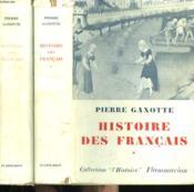 Histoire Des Francais. En 2 Tomes. - Couverture - Format classique