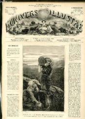 L'UNIVERS ILLUSTRE - QUINZIEME ANNEE N° 901 Salon de 1872 - Couverture - Format classique