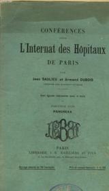 Conferences Pour L'Internat Des Hopitaux De Paris - Fascicule 29 - Couverture - Format classique