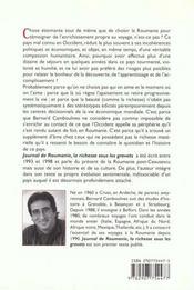 Journal de roumanie 1990 -1998 - 4ème de couverture - Format classique
