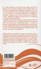 A En Perdre Son Latin - 4ème de couverture - Format classique