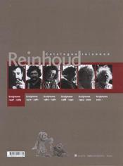 Reinhoud ; catalogue raisonné t.1 ; sculptures 1948-1969 - 4ème de couverture - Format classique