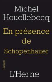 En présence de Schopenhauer - Couverture - Format classique